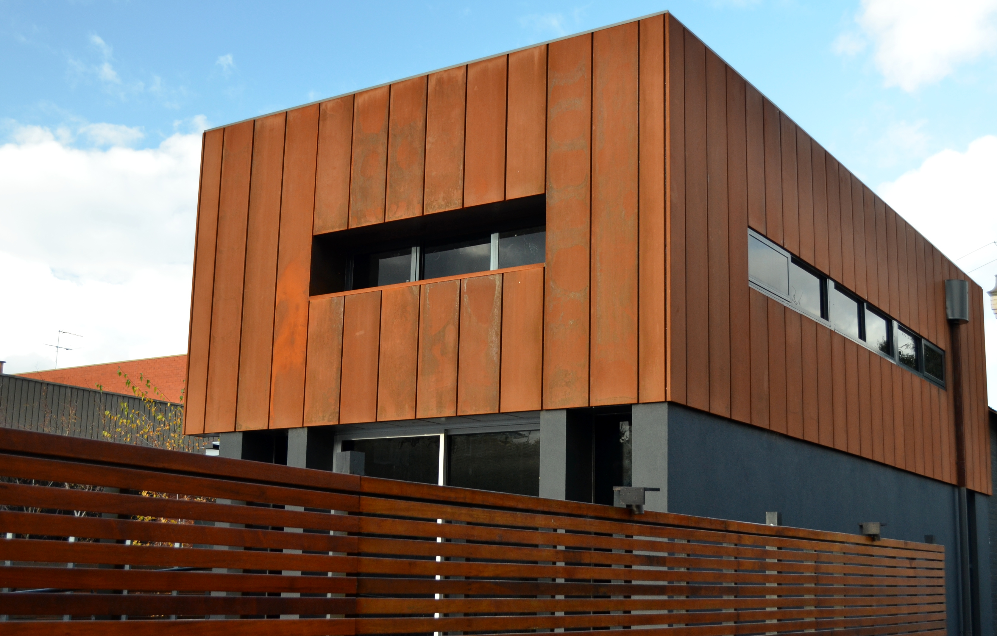Advance Use Of Corten Steel In Architectural Buildings
